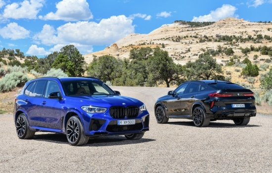 BMW X5 M and X6 M-extreme SUVs