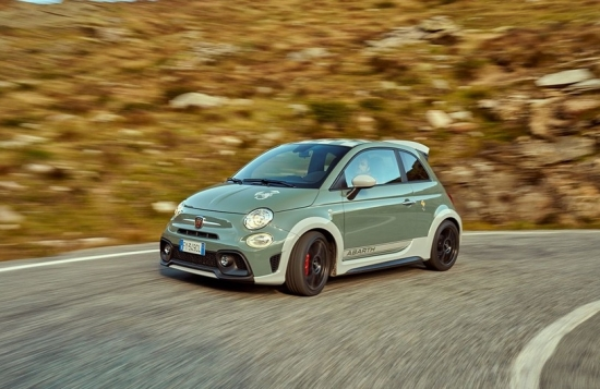 ABARTH 695 70 ANNIVERSARIO: new for the 70th anniversary